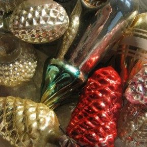 family heirloom glass ornaments
