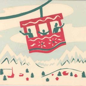 silk screen by Mary Mavor 1955