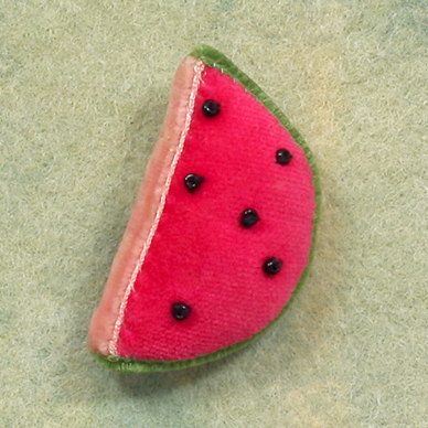Watermelon pin 1977