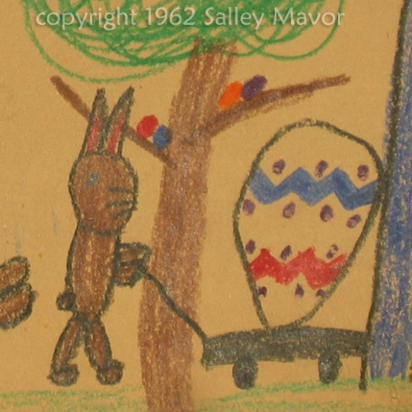 crayon drawing by Salley, age 6