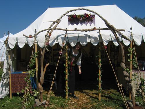 tentdoorway