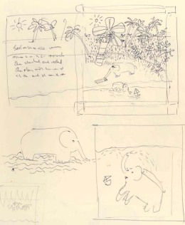 "sketches of ""The Way Home"""