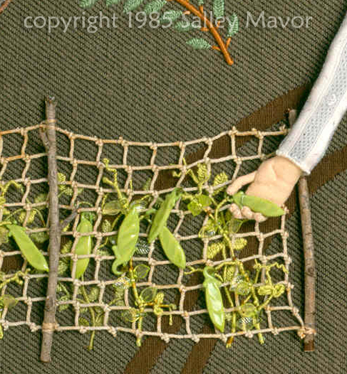 """detail from """"Picking Peas"""" 1985"""