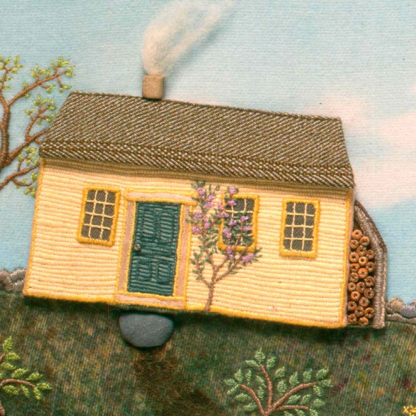 "detail from ""MaryHad a Little Lamb"" cover, 1995"