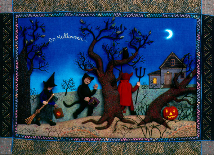 """On Halloween from """"You and Me: Poems of Friendship"""""""