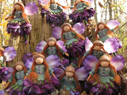 a swarm of fairies?