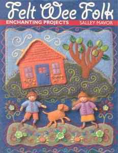 Book - Felt Wee Folk 2003