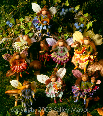 "fairies from ""Felt Wee Folk"""