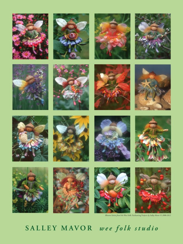"18"" x 24"" Blossom Fairies Poster"