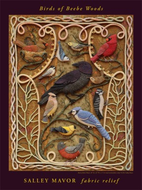 Poster - Birds of Beebe Woods
