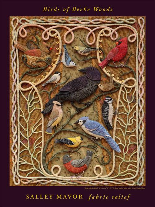 Poster - Birds of Beebe Woods