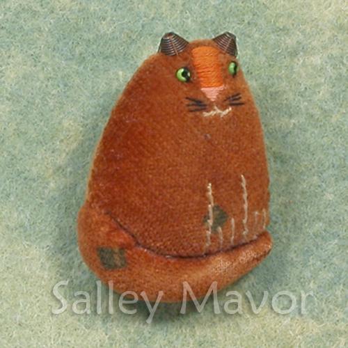 Cat pin circa 1980