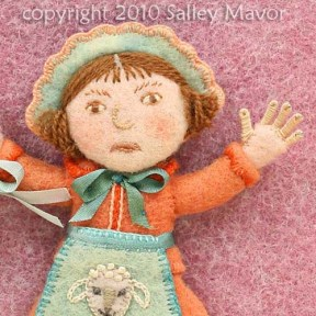"detail from ""Little Bo Peep"""