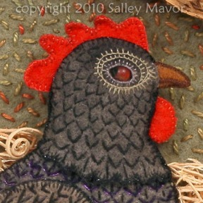 """Hickety pickety my black hen"" detail 2010"