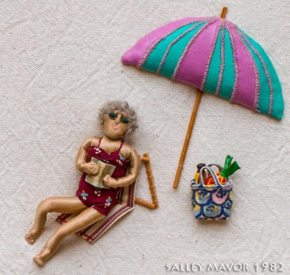 Beachwomaninchair