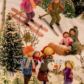 Card - Winter Play
