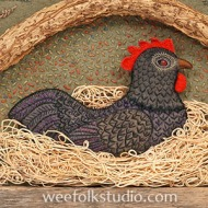 """My Black Hen from """"Pocketful of Posies"""""""