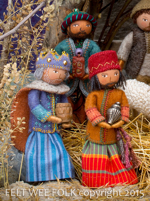 nativity project from Felt Wee Folk