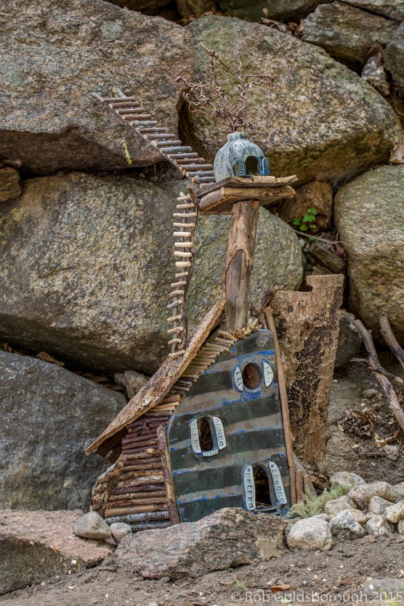 Fairy Houses 2015: Ceramic Abodes