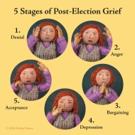 5 stages of post-election grief