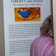 Signage at the NE Quilt Museum