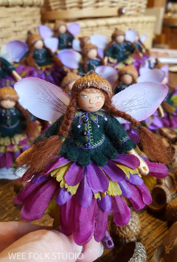 id like to introduce petunia the newest ltd edition fairy the group of 25 dolls have been traveling around with me for about 6 months and finally they