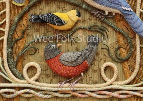 Card - Robin